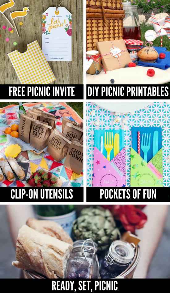 Picnic Ideas and Printables