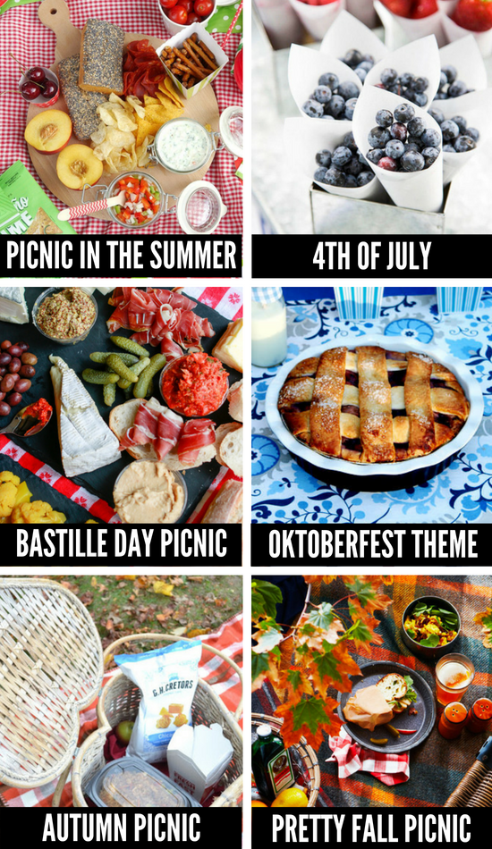 Picnic Ideas for All Seasons