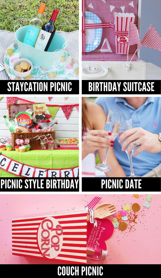 Picnic Ideas for At Home