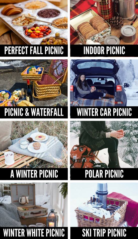 Picnic Ideas for Every Season
