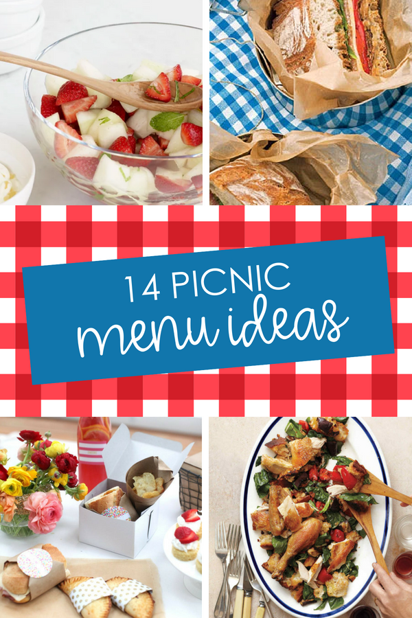 Picnic Lunch Ideas and Menus