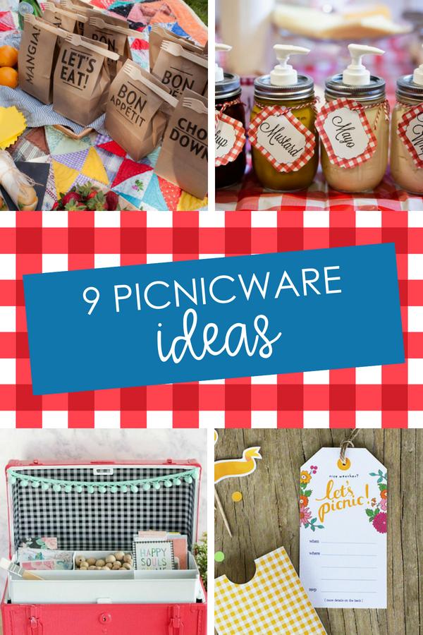 Picnicware and Picnic Ideas