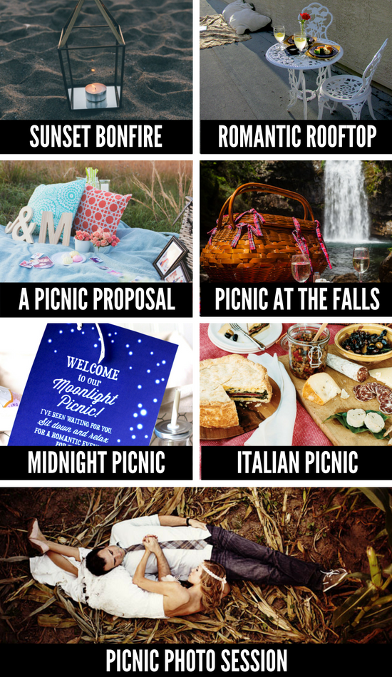 what to pack for a romantic picnic