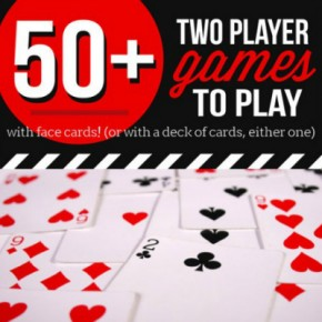 50+ Two Player Card Games