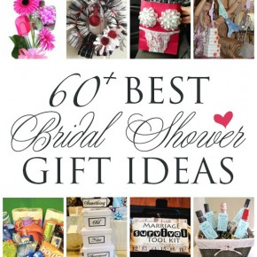 Unique Bridal Shower Gifts Diy : Bridal Shower Gift Ideas