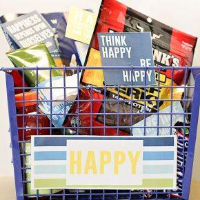 Happy Husband Gift Basket