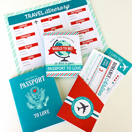 Passport to Love - Romantic Gift Idea