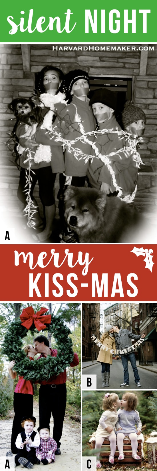 101 Creative Christmas Card Ideas - The Dating Divas