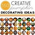 150 Pumpkin Decorating Ideas
