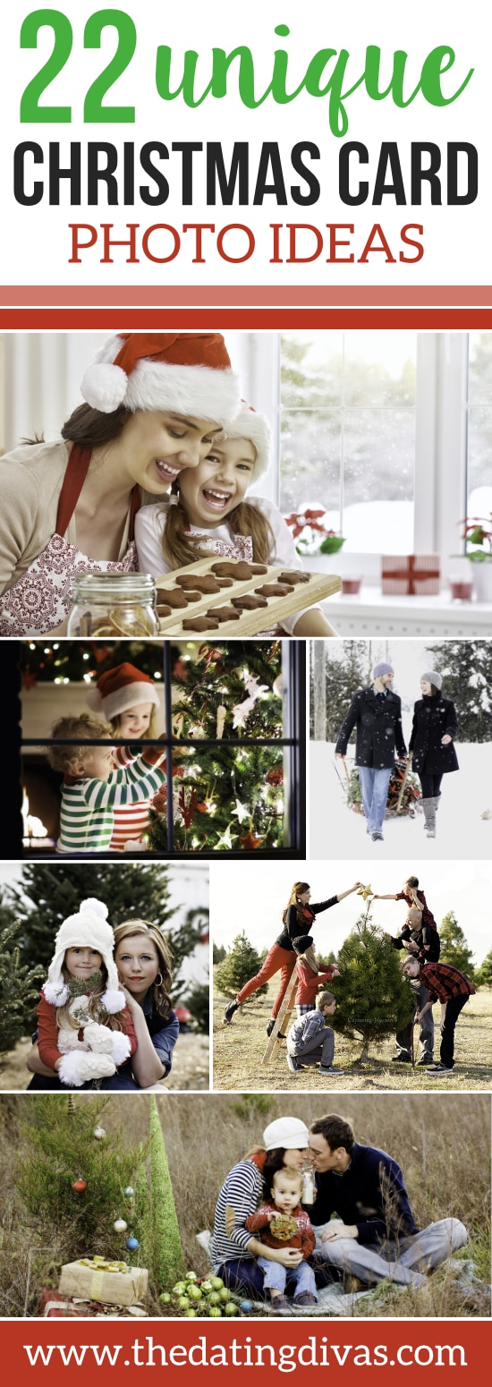 unique christmas card photo ideas