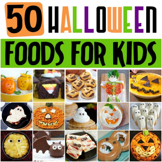 50 FUN Halloween Foods - Halloween Themed Food for Every Meal