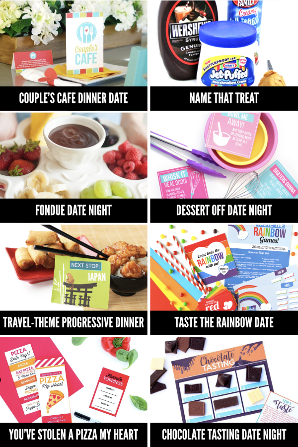 At Home Date Ideas with Food