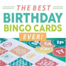 Birthday Bingo Cards