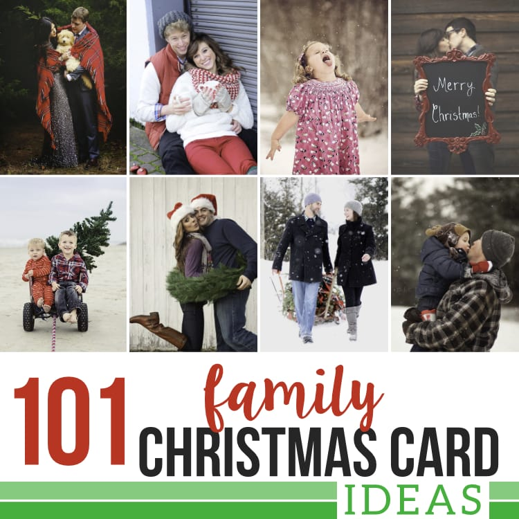 Family Photo Ideas Christmas Cards