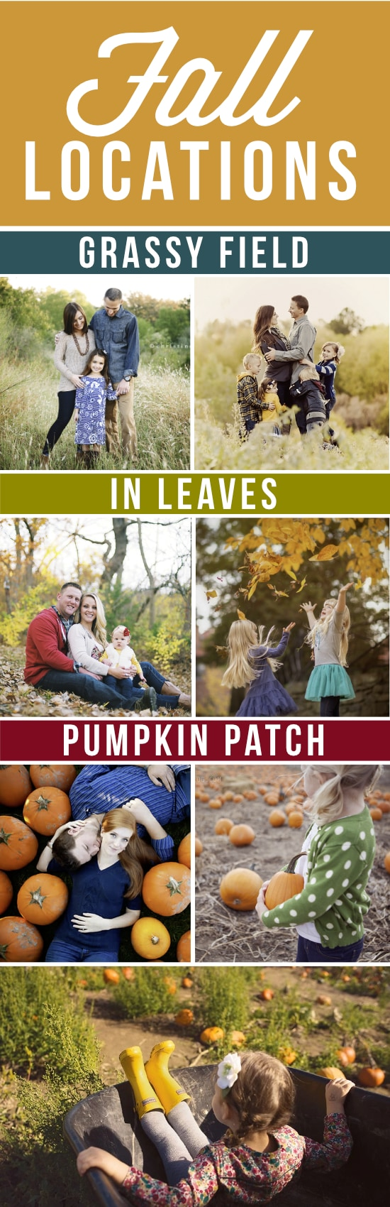 Locations for Fall Pictures