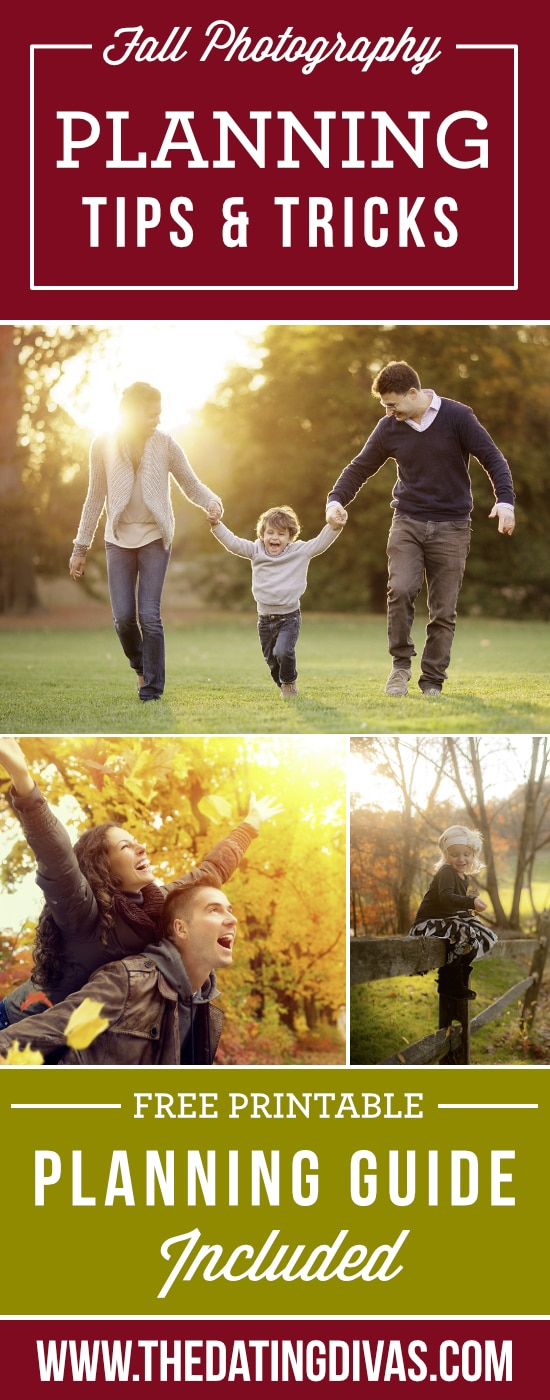 Planning Guide for Fall Photos
