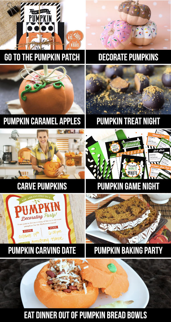 Pumpkin Date Ideas