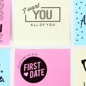 Printable Love Sticky Notes