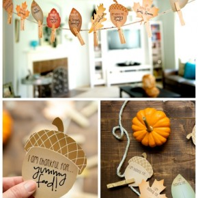 Cute DIY Fall Garland