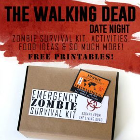 The Walking Dead Printables