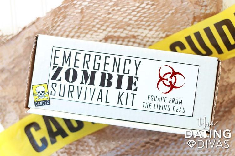 Walking Dead Zombie Survival Kit