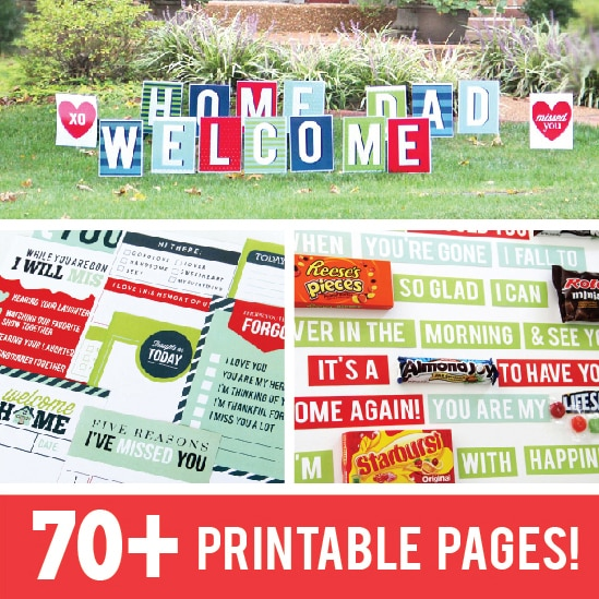 photo relating to Printable Welcome Home Banner named Welcome Dwelling Printable Occasion Package