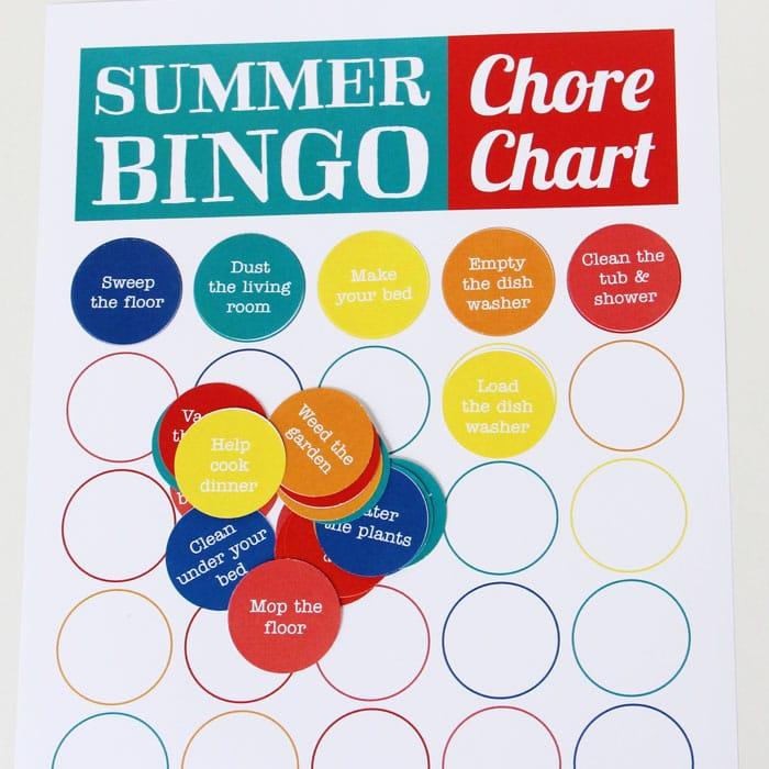 Summer Boredom Busters Pack bingo
