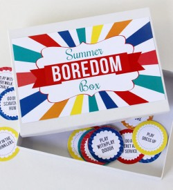 Summer Boredom Busters Pack box