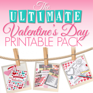 The Ultimate Valentine's Day Printable Pack