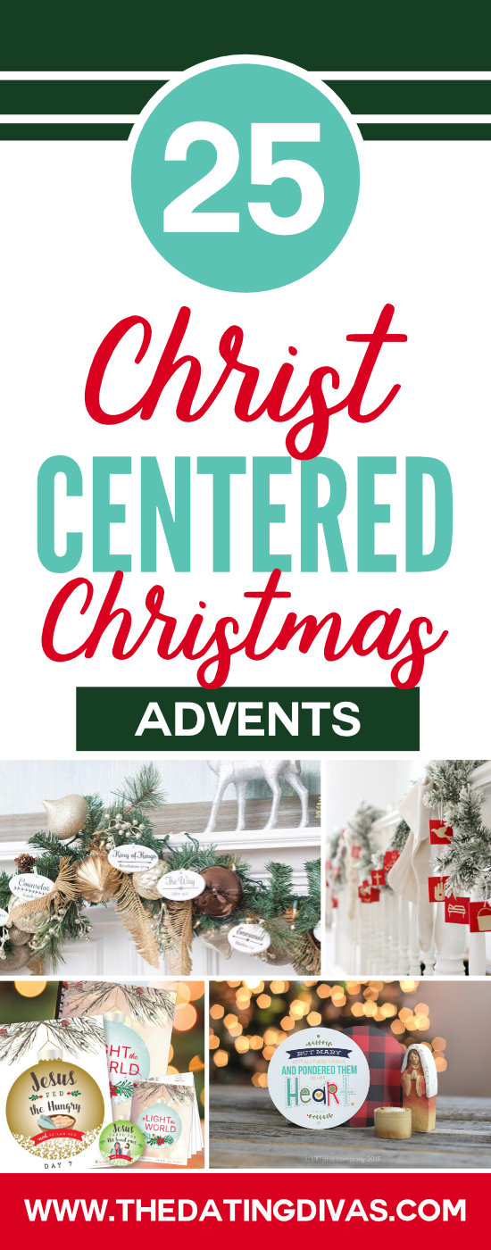 Keep Christ in Christmas with a Christ-Centered Advent Calendar - love these!