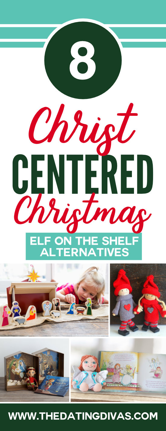 Christ-Centered Alternatives to the Elf on the Shelf- to help them focus on the real reason for the season