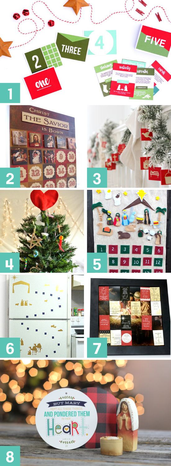 Christmas Advent Calendars to help keep CHRIST in Christmas!