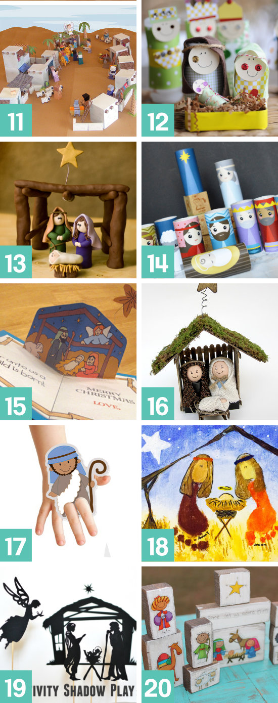 Christ-Centered Christmas Crafts and Activities for Kids