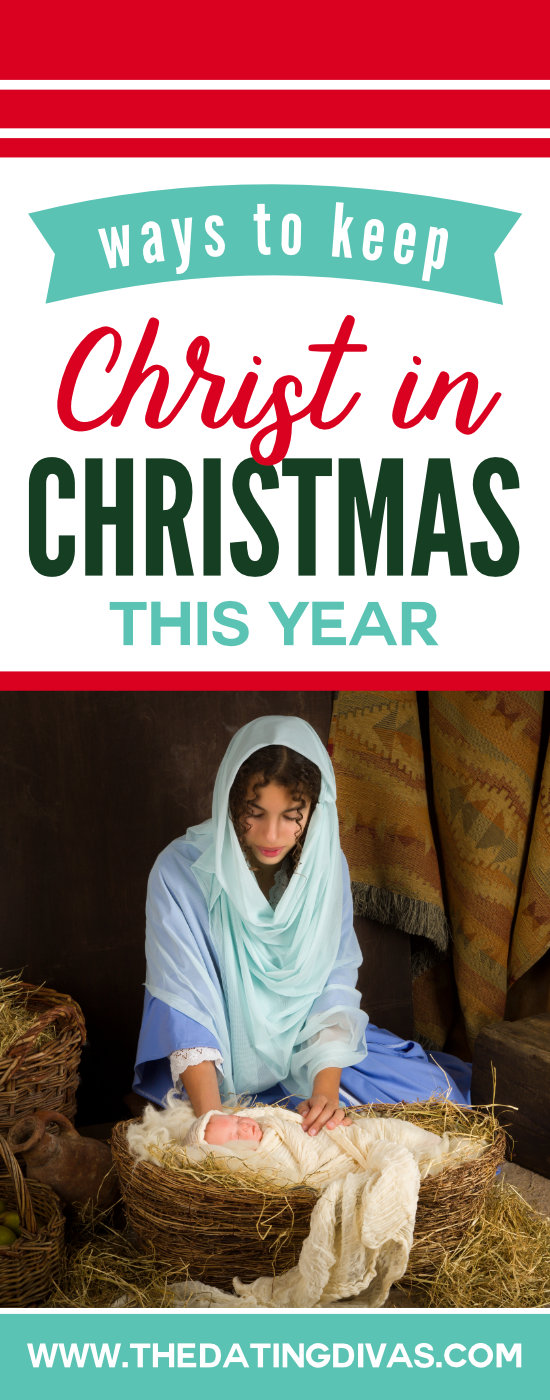 Ideas for having a Christ-Centered Christmas #keepchristinchristmas #christmastraditions