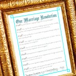 Create Your Own Marriage Resolution