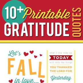 Printable Gratitude Quotes