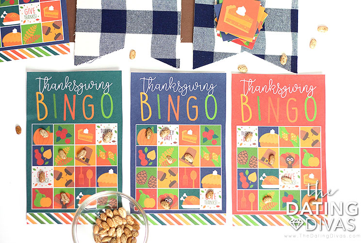 Thanksgiving Bingo Printables