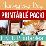 Thanksgiving Day Printable Pack