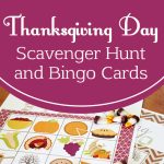 Thanksgiving Bingo & Scavenger Hunt