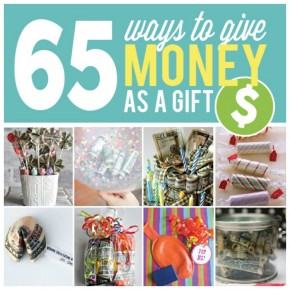 Giving money as a gift!