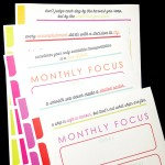 New Year Goals Printable Pack