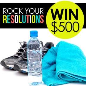 Rock Your New Year's Resolutions and WIN $500