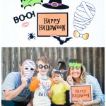 2015 October Password Post Halloween Photobooth Collage