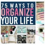 75 Ways to Organize Life