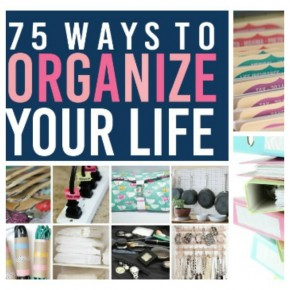 75 Ways to Organize your life Today