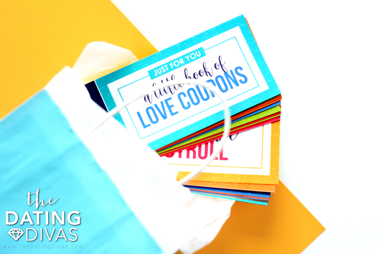diy love coupons for him from the dating divas