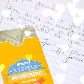 Leave a little love note for your spouse!