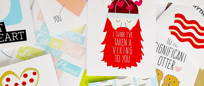 Free Romantic Cards for Him