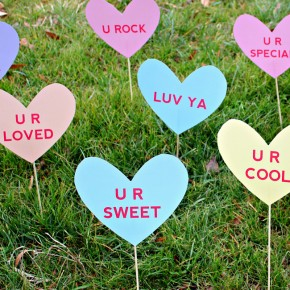 Heart Attack Lawn Signs