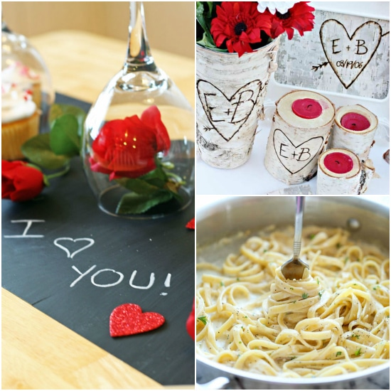 How to have a romantic valentine 39 s dinner at home the for Valentines dinner party ideas